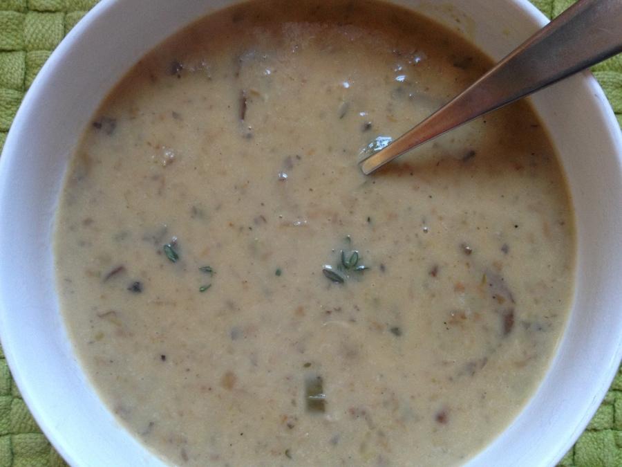 Delicious Creamy Warm Winter soup!